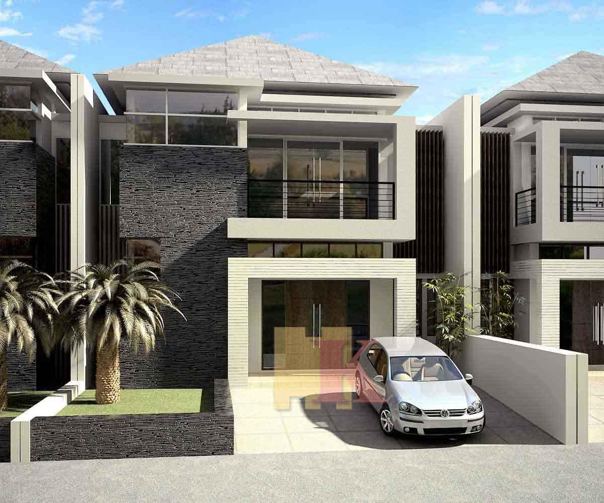 Desain Rumah Minimalis Satu Lantai Tampak Depan Rumah Minimalis Tips